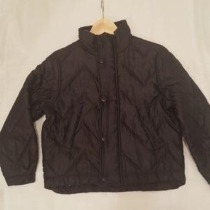 Versace Jackets & Coats - Versace boy size 10 black bomber jacket